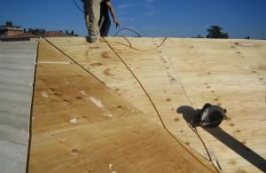 Copertura con isolamento legno tetto nuova costruzione civile zanella costruzioni edili montebelluna treviso veneto