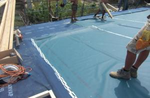 Copertura con isolamento tetto nuova costruzione edile civile zanella costruzioni edili montebelluna treviso veneto