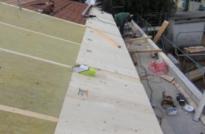Copertura tetto nuova costruzione civile zanella costruzioni edili montebelluna treviso veneto