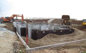 Fondamenta cemento armato nuove costruzioni civili industriali zanella costruzioni edili montebelluna treviso