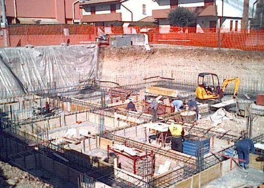 Fondazioni nuove costruzioni civili industriali zanella costruzioni edili montebelluna treviso veneto