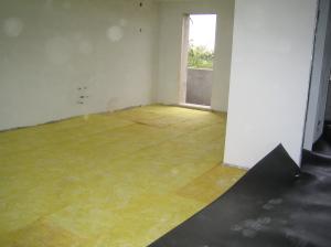 Isolamento massetto nuova costruzione civile zanella costruzioni edili montebelluna treviso