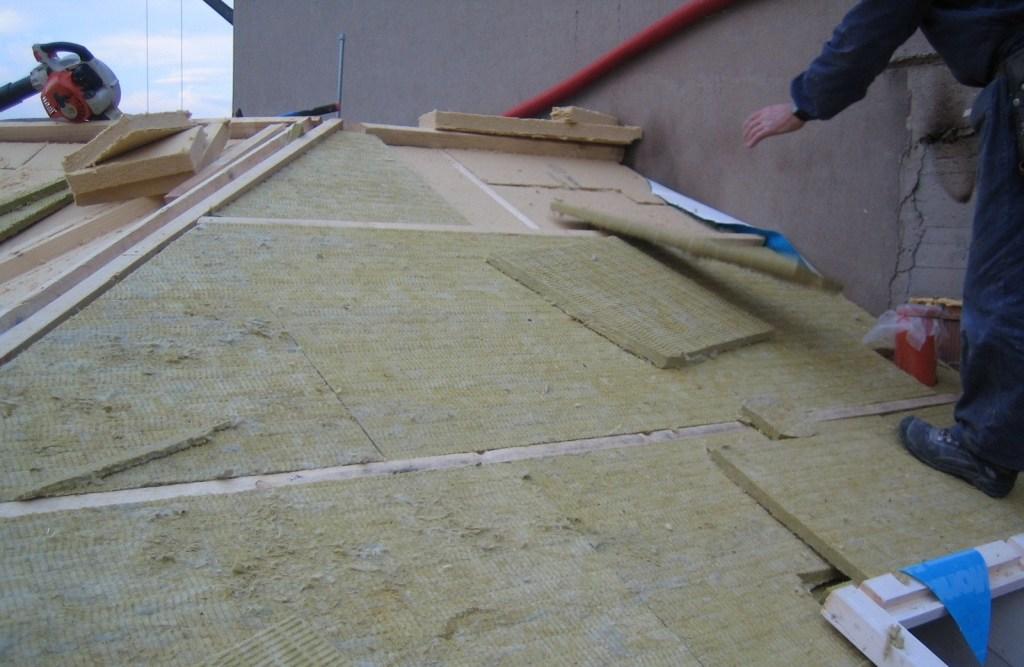 Isolamento copertura tetti Costruzioni Zanella Montebelluna