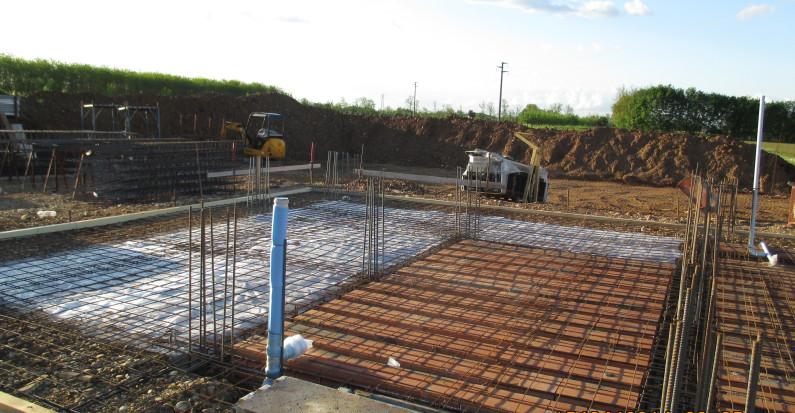 Solaio nuova costruzione civile industriale zanella costruzioni edili montebelluna treviso