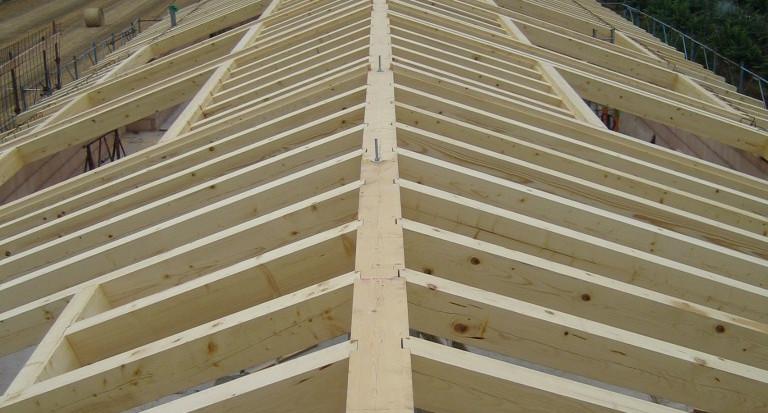 Tetto in legno con tavelle nuove costruzioni civili industriali zanella costruzioni edili montebelluna treviso