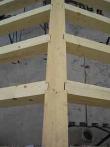 Tetto in legno con tavelle nuova costruzione civile zanella costruzioni edili montebelluna treviso