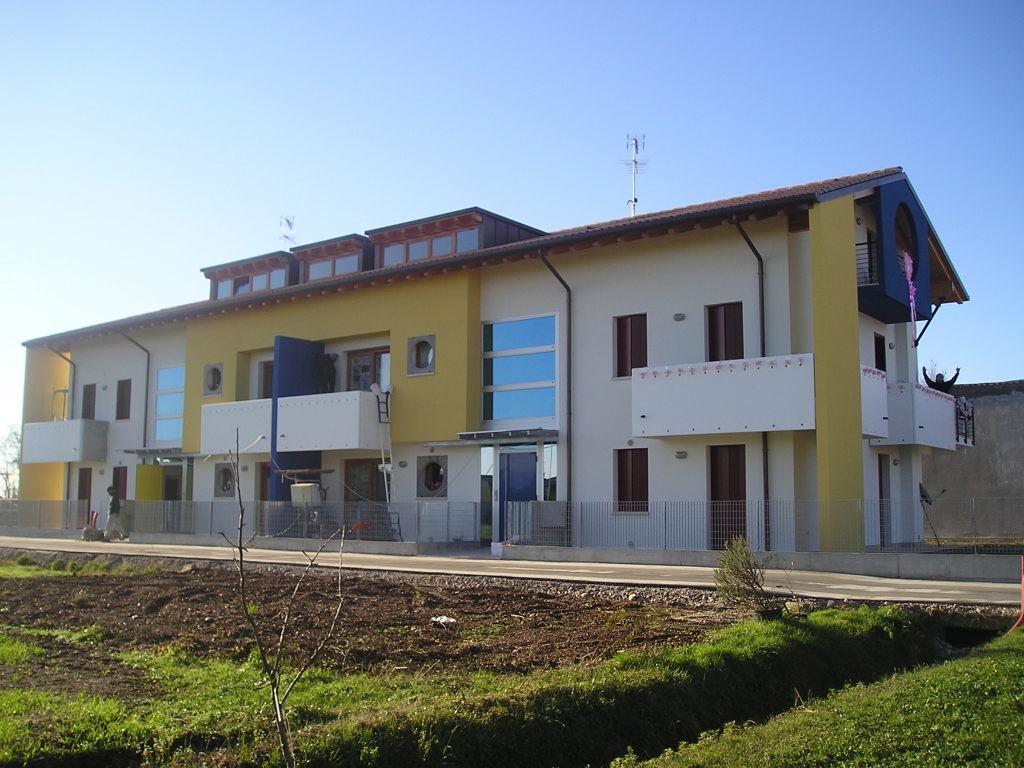 6 appartamenti lavori chiavi in mano trevignano montebelluna impresa edile di costruzioni zanella