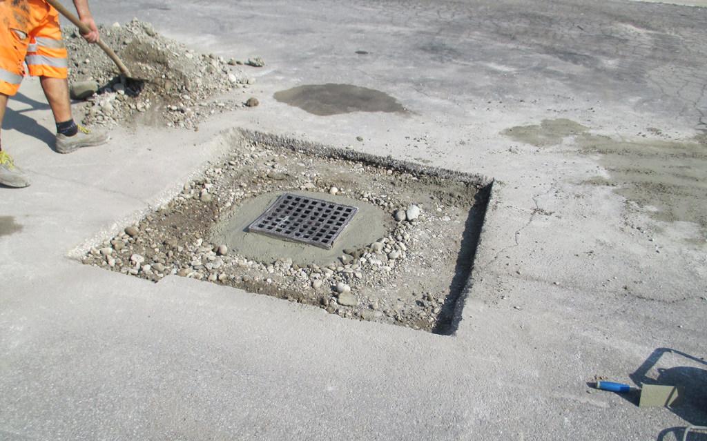 Opera di asfaltatura stradale - Zanella Costruzioni Montebelluna