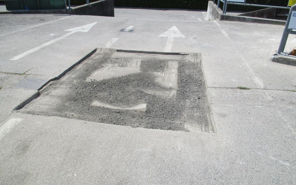 Asfaltatura - Lavori stradali - Impresa edile Zanella Montebelluna