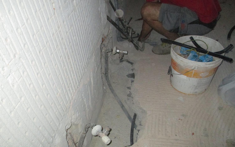 Rifacimento bagno costruzioni edili zanella - Rifacimento bagno manutenzione ordinaria ...