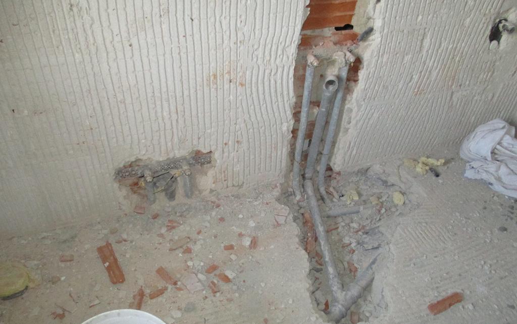 Rifacimento bagno - Lavori edili